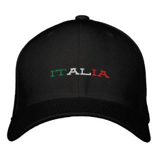 Italia Moto Embroidered Baseball Hat