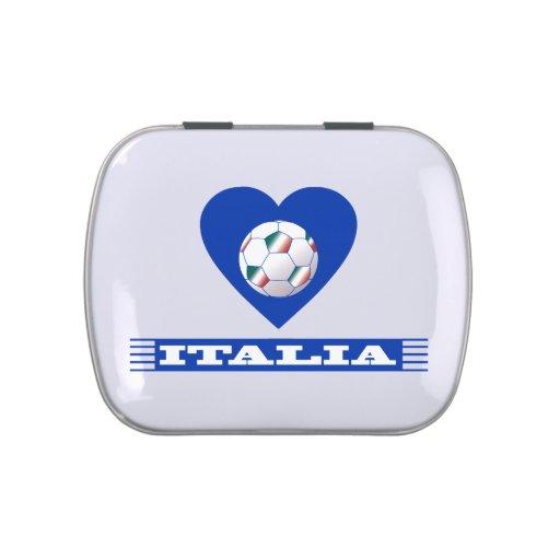 ITALIA NATIONAL FOOTBALL TEAM LATAS DE DULCES