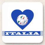 ITALIA NATIONAL FOOTBALL TEAM POSAVASOS DE BEBIDAS