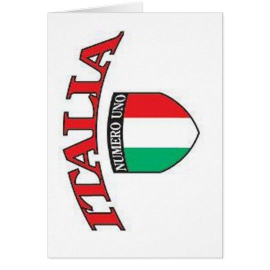 Italia Numero Uno card