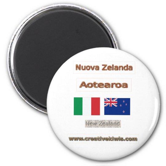 Italia, Nuova Zelanda Magnet