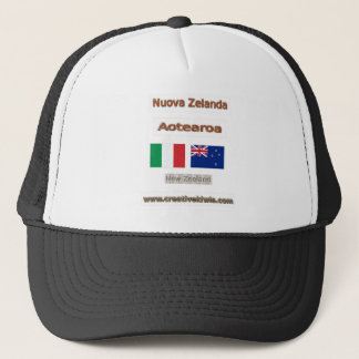 Italia, Nuova Zelanda Trucker Hat