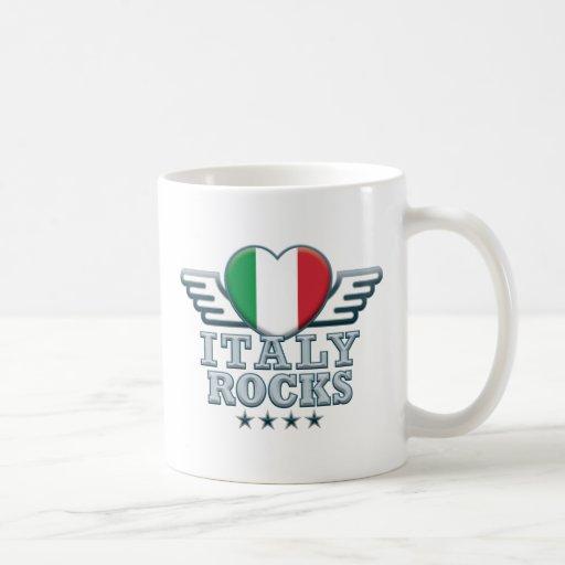 Italia oscila v2 tazas de café