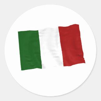 Italia Pegatina Redonda
