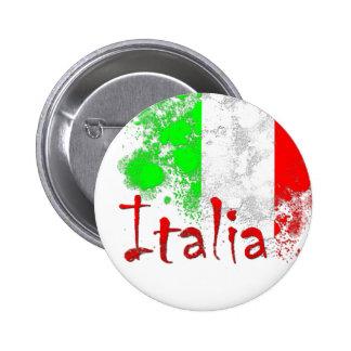 Italia Pin Redondo De 2 Pulgadas