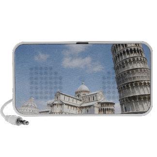 Italia Pisa Catedral baptistry y el inclinarse Mini Altavoces