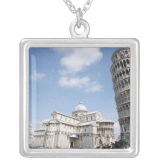 Italia, Pisa. Catedral, baptistry y el inclinarse Colgante Cuadrado
