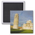 Italia, Pisa, Duomo y torre inclinada, Pisa, 2 Imán De Frigorifico
