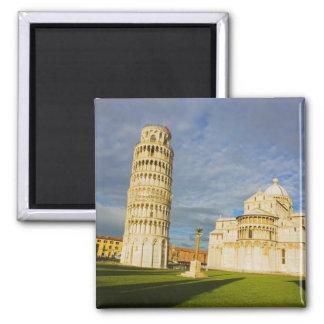 Italia, Pisa, Duomo y torre inclinada, Pisa, 2 Imán Cuadrado
