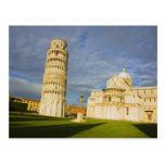 Italia, Pisa, Duomo y torre inclinada, Pisa, 2 Postales
