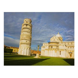 Italia, Pisa, Duomo y torre inclinada, Pisa, 2 Postal