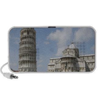 Italia Pisa Torre inclinada de Pisa y iPhone Altavoz