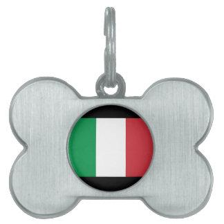 Italia Placas De Nombre De Mascota