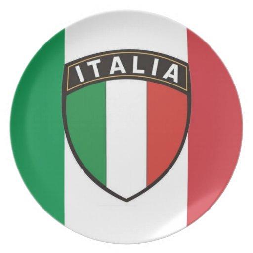 Italia Plate