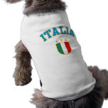 Italia Playera Sin Mangas Para Perro
