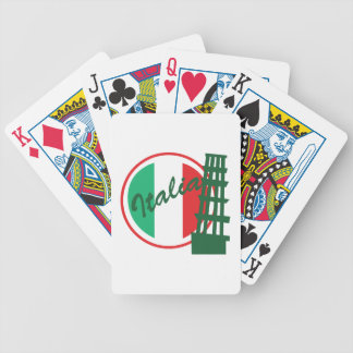 Italia Bicycle Playing Cards