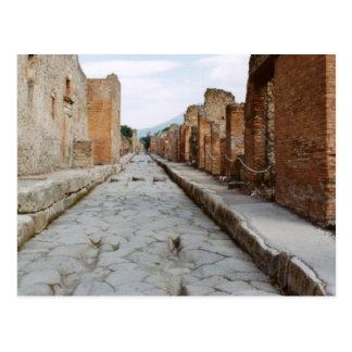 Italia, Pompeya, sitio arqueológico Postal