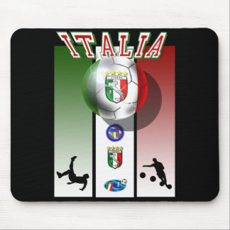 Italia poster artwork for calcio lovers globally mouse pad