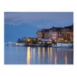 Italia, provincia de Como, Bellagio. Opinión de la Tarjetas Postales