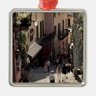 Italia, provincia de Como, Bellagio. Salita 2 Ornamentos De Navidad