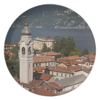 Italia, provincia de Como, Menaggio. Opinión y 2 d Plato Para Fiesta