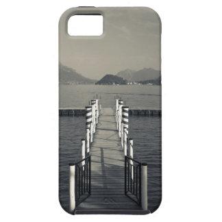 Italia, provincia de Como, Tremezzo. Embarcadero d iPhone 5 Case-Mate Protectores