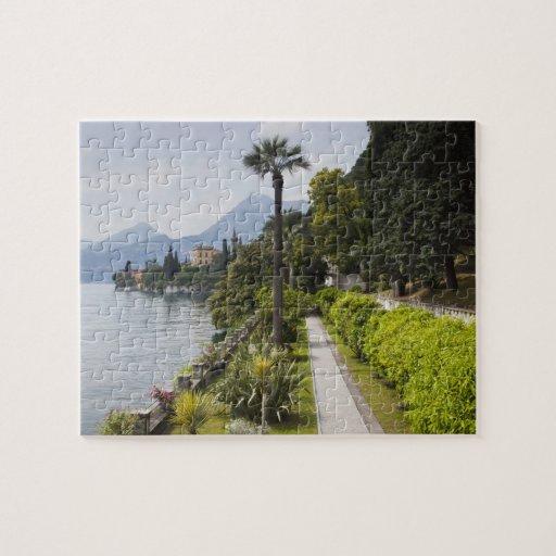Italia, provincia de Lecco, Varenna. Chalet Monast Puzzle