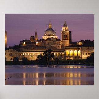 Italia provincia de Mantua Mantua Opinión de la Posters