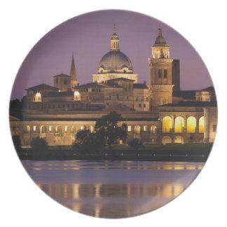 Italia provincia de Mantua Mantua Opinión de la Plato De Comida