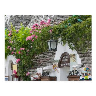 Italia, Puglia, Alberobello, dei Trulli de la Postales