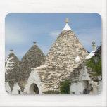 Italia, Puglia, Alberobello, dei Trulli de la tier Alfombrilla De Ratones