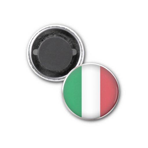 Italia redonda imán de nevera