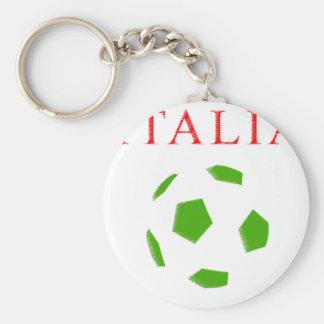italia retro soccer t shirt key chain