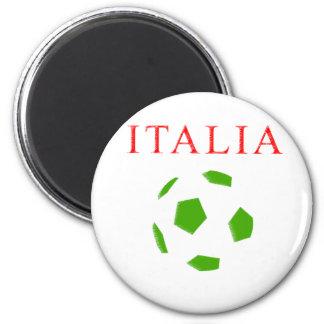 italia retro soccer t shirt magnet