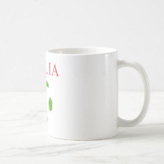 italia retro soccer t shirt mugs