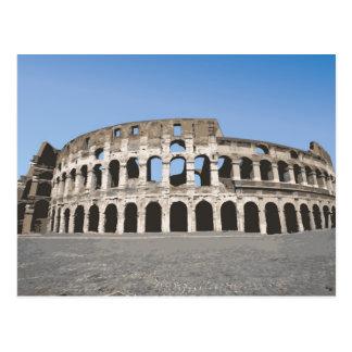 Italia, Roma, anfiteatro romano antiguo, Postal