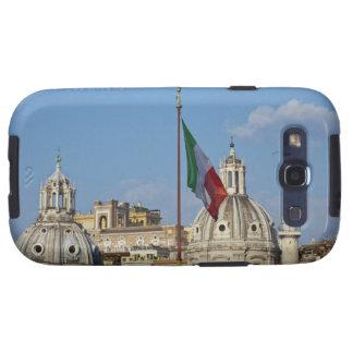 Italia, Roma. Bandera italiana Galaxy SIII Cárcasa