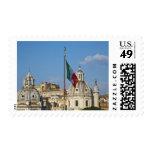 Italia, Roma. Bandera italiana Sello