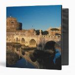 "Italia, Roma, Castel Sant'Angelo y río Carpeta 1 1/2"""