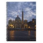 Italia, Roma, Ciudad del Vaticano, la basílica de  Libro De Apuntes