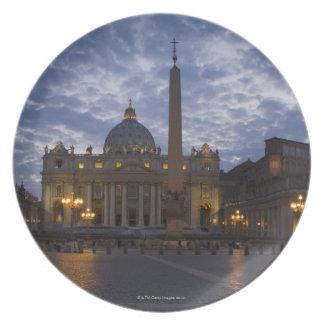 Italia, Roma, Ciudad del Vaticano, la basílica de  Platos