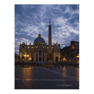 Italia, Roma, Ciudad del Vaticano, la basílica de  Postal