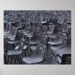 Italia, Roma, Ciudad del Vaticano, sillas al aire  Póster