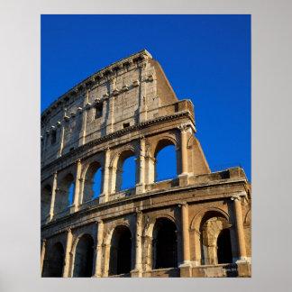Italia, Roma, coliseo Póster