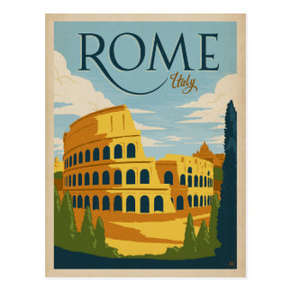 Italia, Roma Tarjeta Postal