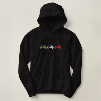 Italia scooter Embroidered Hoody