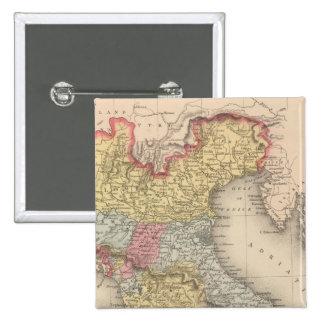Italia septentrional 2 pin cuadrada 5 cm
