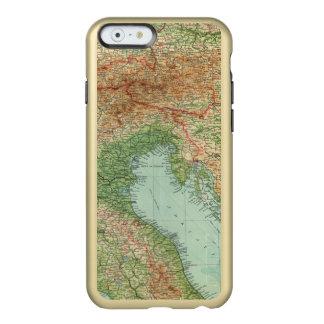 Italia septentrional, Austria, &c Funda Para iPhone 6 Plus Incipio Feather Shine