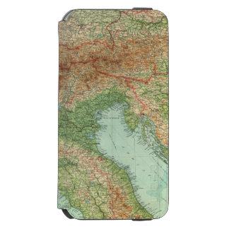 Italia septentrional, Austria, &c Funda Cartera Para iPhone 6 Watson