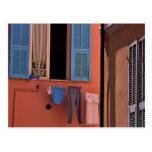 Italia septentrional, luz de la mañana tarjetas postales